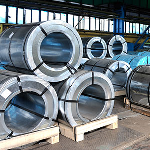 Steel Coil Freight On Pallets
